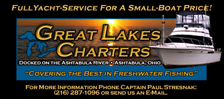Great Lakes Fishing Charters Header